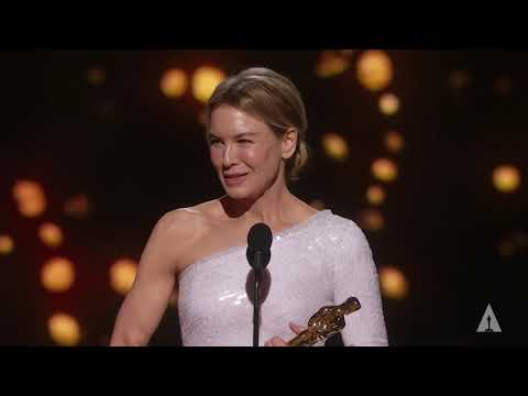 Download Renée Zellweger wins Best Actress Mp4 HD Video and MP3