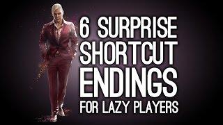 6 Surprise Shortcut Endings for Lazy Players