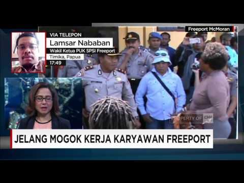Mogok Kerja Karyawan Freeport - Lamsar Nababan, Wakil Ketua SPSI