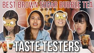 Best Brown Sugar Milk Tea in Singapore | Taste Testers | EP 79