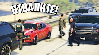 GTA 5 COPS & ROBBERS - АГЕНТЫ ФБР ЕДУТ ЗА ЯПОНСКИМ КОРЧЕМ ЗАЛЕТАЮЩИМ БОКОМ В ПОВОРОТЫ НАРУШАЯ ПДД!