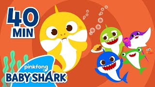 Baby Shark Hiccup And More   +Compilation   Homeschooling With Baby Shark