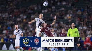 HIGHLIGHTS: LA Galaxy vs. Colorado Rapids | August 14, 2018