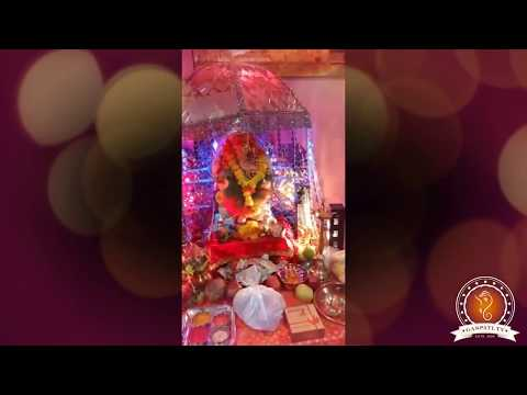 Dhiraj Kandhari Home Ganpati Decoration Video