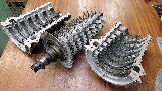 Изучаю двигатель постапокалипсиса ГТД-350
