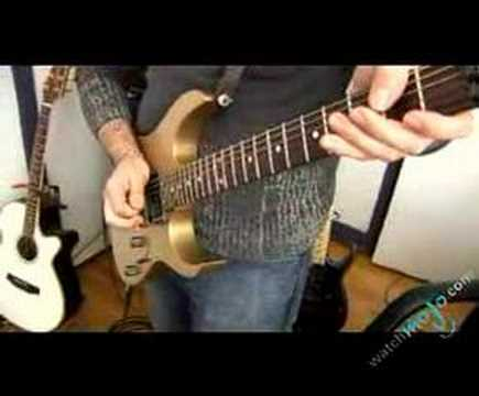Guitarist shows what he can do with a Whammy Bar