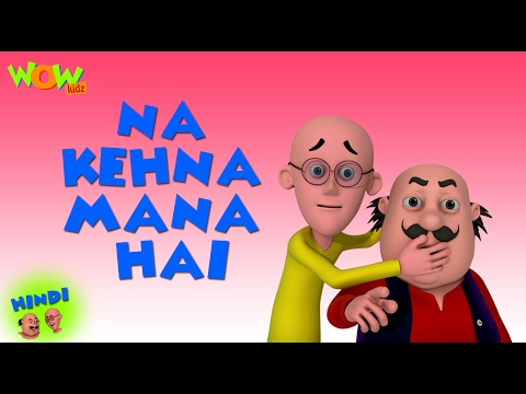 Motu Ke Phone Ka Shauk Motu Patlu In Hindi 3d Animation Cartoon