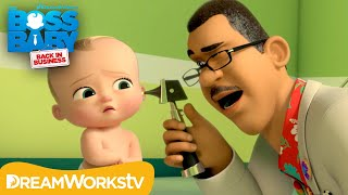 Boss Baby Goes to the Doctor  BOSS BABY: BACK IN BUSINESS