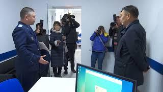 Архимед Мухамбетов принял участие в открытии центр правоохранительных услуг - 20.10.17