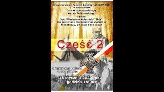 """Leszek Żebrowski: W obronie """"Żbika"""". cz. 2."""