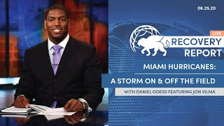 Recovery Report LIVE (Special Edition) With Guest Jonathan Vilma EP.6