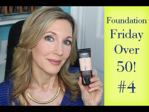 Foundation Friday for Over 50 | #4  | L'Oreal Infallible Pro Matte