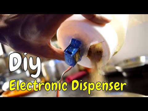 DIY Electronic Powder Dispenser Machine For Automatic Coffee Maker