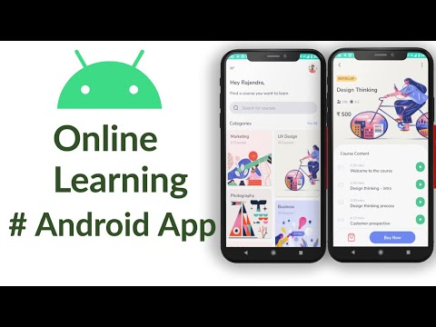 Online Learning Android App | Android Studio Tutorial - YouTube