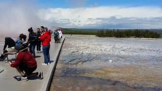 Biscuit Basin Geyser, Yellowstone National Park