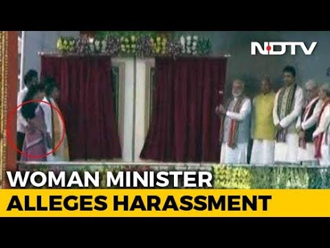 Tripura Minister Seen Groping Colleague On Stage In PM's Presence