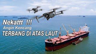 NEKAT !! DRONE TERBANG JAUH DARI SUNGAI MAHAKAM KE LAUT KALIMANTAN | DJI Phantom 4 Pro | PENASCOP