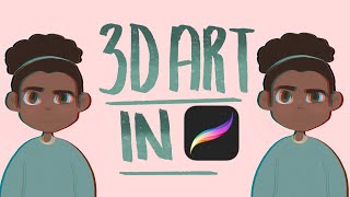HOW TO MAKE A 3D EFFECT WITH YOUR ART IN PROCREATE + ALL MAJOR DIGITAL ART PROGRAMS