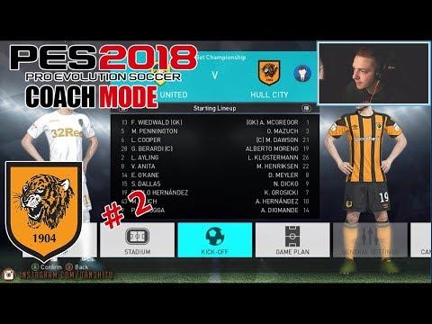 #2 Master League - PES 2018 - Coach Mode - Hull City