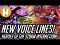 Overwatch  NEW Dva Voice Lines and Interactions Heroes of The Storm