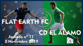 R.F.F.M. - Jornada 11 - Tercera División Nacional: Flat Earth F.C. 2-0 C.D. El Alamo.