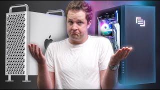 I'm SHOCKED! $11,000 Mac Pro vs $11,000 PC!