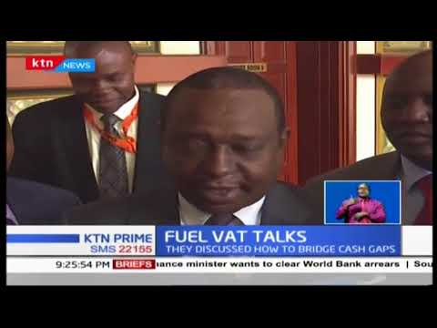 President Uhuru held a meeting with CS Rotich over controversial 16% VAT on petroleum products
