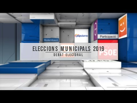 Debat Eleccions Municipals 2019 La Pobla de Vallbona