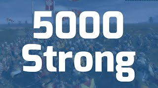 5000 Strong! - Thank you :D