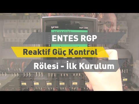 ENTES RGP Reaktif Güç Kontrol Rölesi - İlk Kurulum