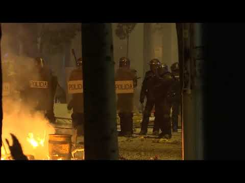 Barcelona rocked by clashes