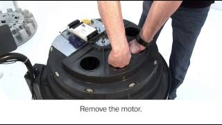 X-Smart - Replace agitation motor