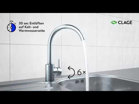 CEX-U – Installation und Montage des E-Kompaktdurchlauferhitzers in der Küche
