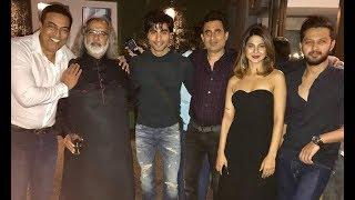 Bepanah Serial Cast Jennifer Winget, Harshad Chopra, Sehban Azim Party Together