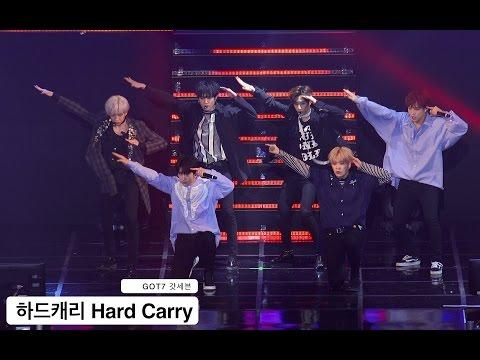 GOT7 갓세븐[4K 직캠]하드캐리 Hard Carry@170318 Rock Music