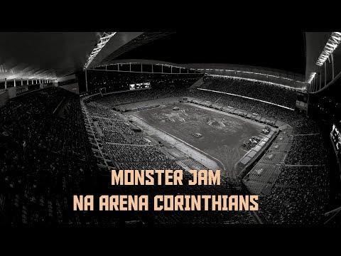 Um espetáculo na Arena Corinthians | Monster Jam