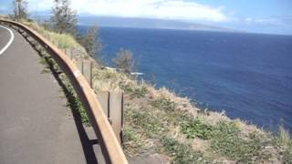 preview picture of video 'Maui North Shore Honolua Drive.mpg'