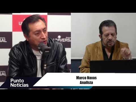 🎙#PuntoNoticias – Marco Navas -  Situación económica del país