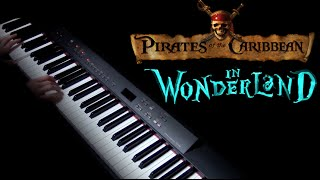 Pirates of the Caribbean/Alice in Wonderland piano cover