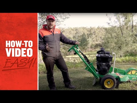 Hire STUMP GRINDER -  PETROL