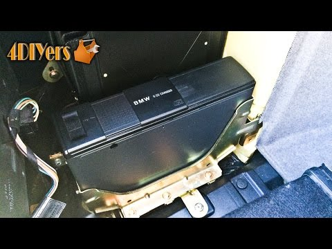 How to eject disc tray from CD changer / Range Rover 2004 - Sergei