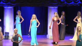 Olivia Asplund Miss World Sweden 2014 crowning moment