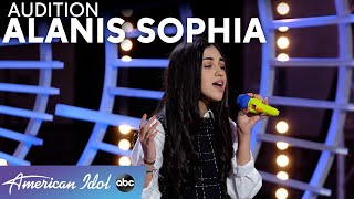 """Authentic And Honest! Alanis Sophia WOWs Judges With """"Anyone"""" By Demi Lovato - American Idol 2021"""