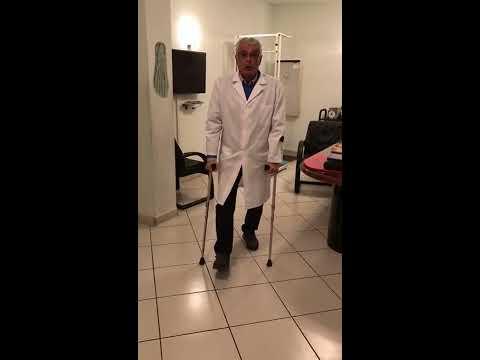 DEAMBULAZIONE CORRETTA CON CARICO PARZIALE - Prof. Dott. Lorenzo Giuseppe Santo