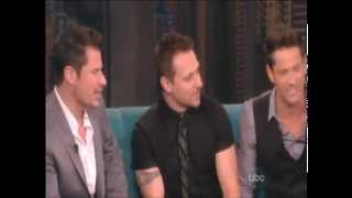 98 Degrees on The View 5/7/13