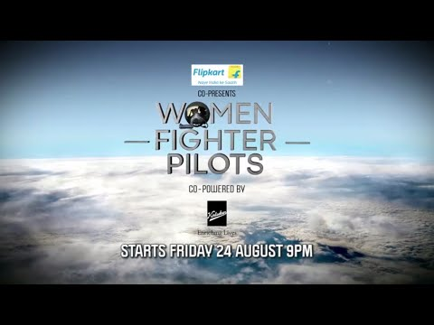 Watch the winds of change blow with Discovery's new show - Women Fighter Pilots