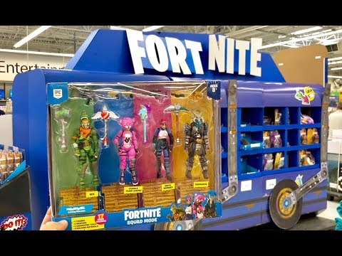 Fortnite Toys Hunt - IMPORTANT Tip about the $10 Loot Chest Boxes - Fortnite Sqaud Mode Toy