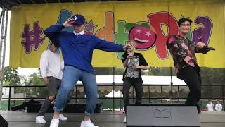 PRETTYMUCH And In Real Life At Kidtopia