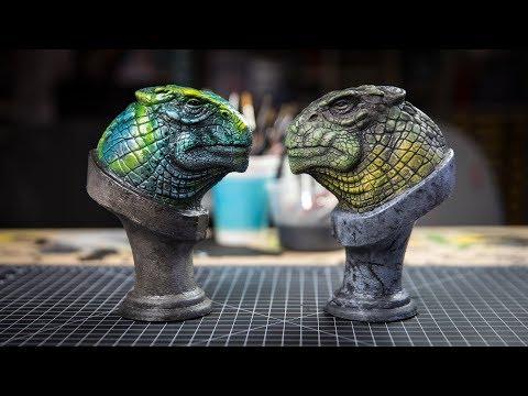 Let's Paint: Dinosaur Garage Kits!