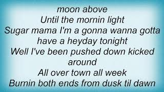 Aaron Watson - Heyday Tonight Lyrics